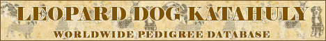 DogsFiles.com - international pedigree database.